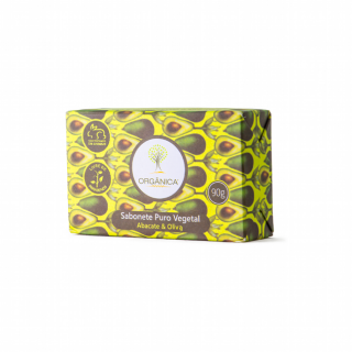 Sabonete Abacate e Oliva Orgânica 90g