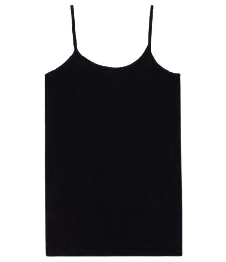 Camiseta Alcinha Preta Trifil