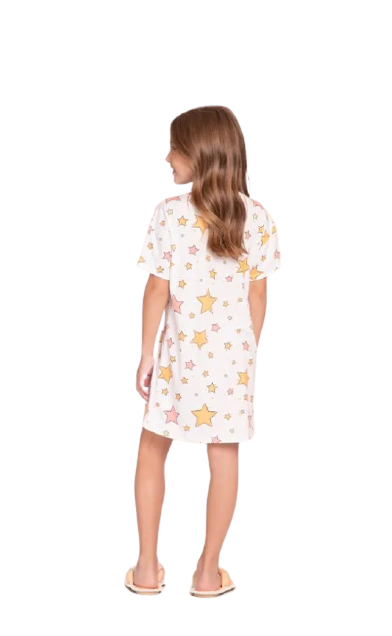 Camisola Infantil Meninas Into The Stars Lua Luá
