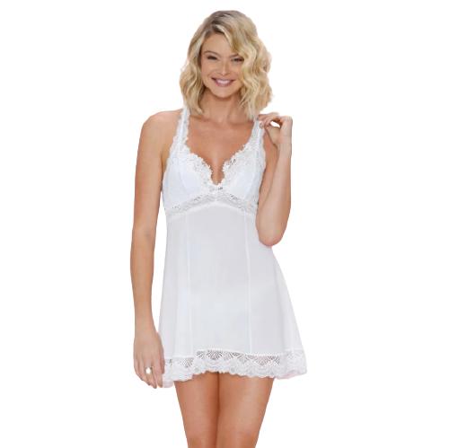 Camisola Sexy Sem Bojo Branco Fruit de La Passion