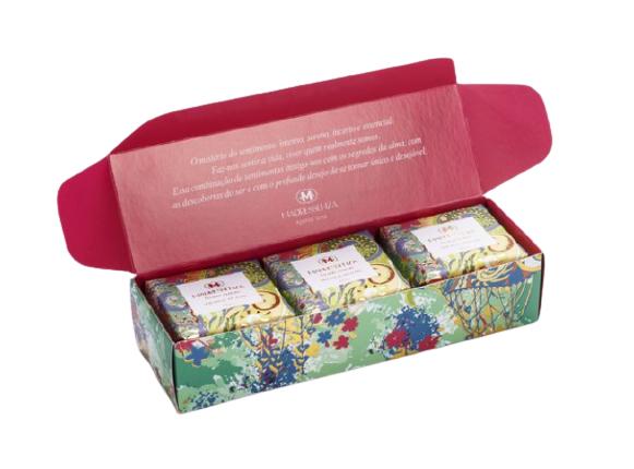Kit Sabonetes Floral Lemon Madressenza
