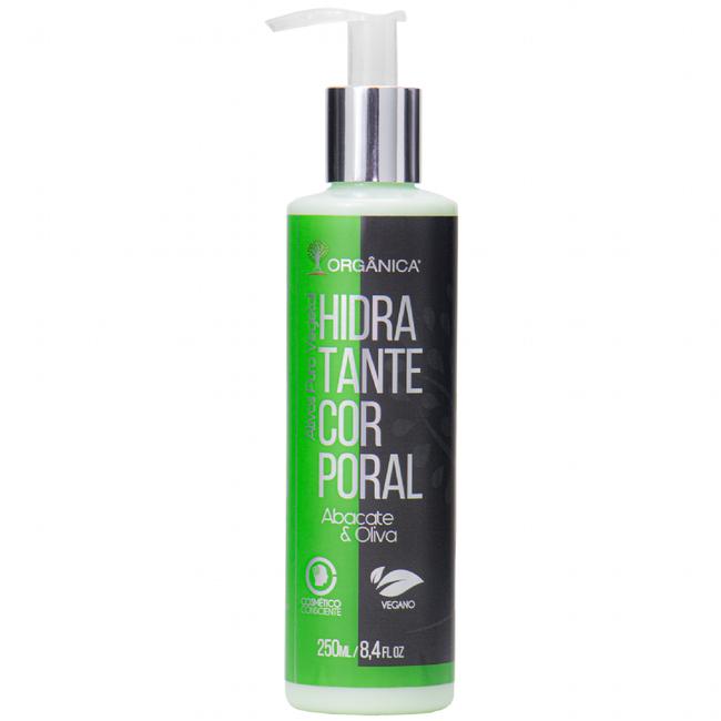 Hidratante Corporal Abacate Orgânica 250ml