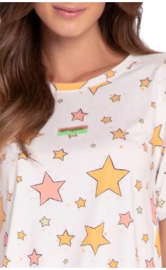 Pijama Feminino Curto Into The Stars Mãe e Filha Lua Luá