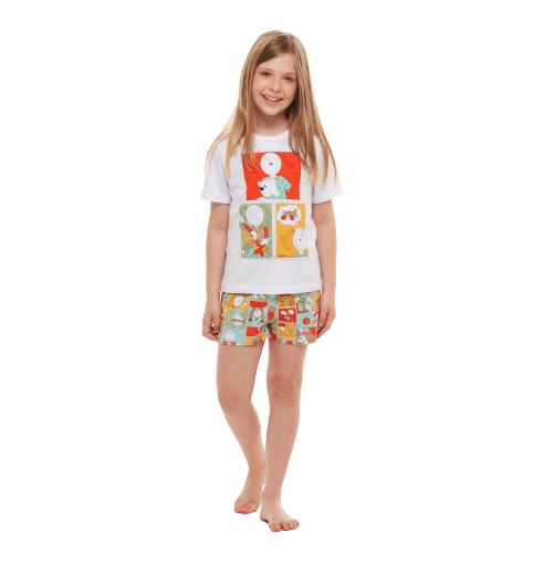 Pijama Menina Infantil Divertido Sonhart