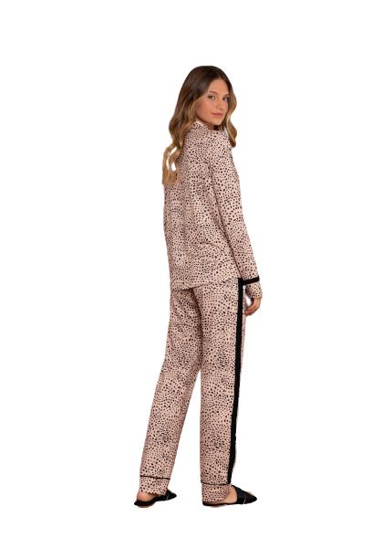 Pijama Feminino Inverno c/ Abertura de Botões Stay Lua Luá