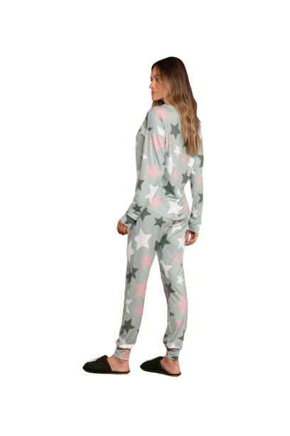 Pijama Feminino Inverno Comfort Magic Florest Lua Luá