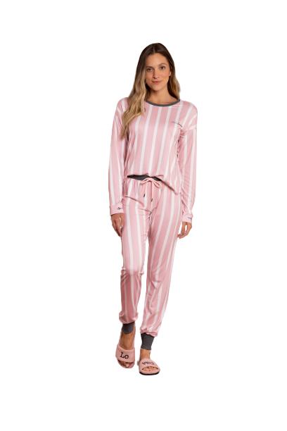 Pijama Feminino Inverno Comfort With Love Lua Luá