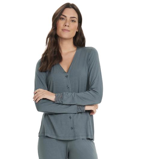 Pijama Feminino Inverno Concreto Cor Com Amor
