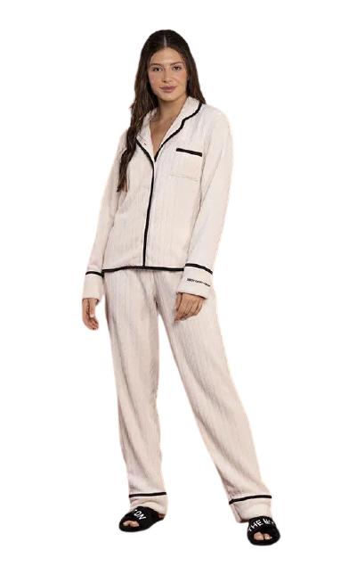 Pijama Feminino Inverno Fleece Every Moment Lua Luá