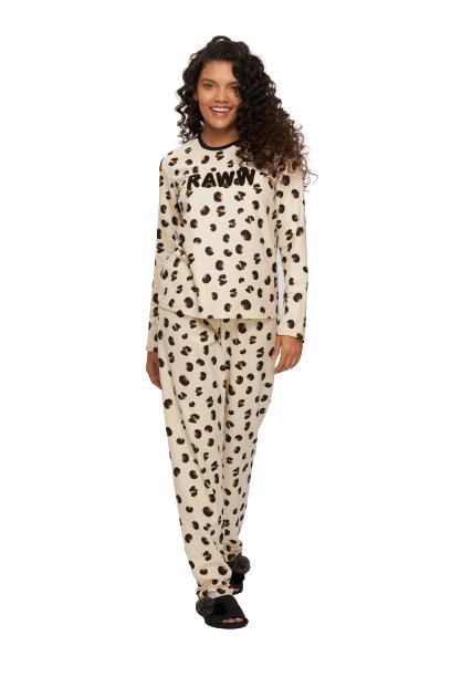 Pijama Feminino Inverno Fleece RAWN Recco