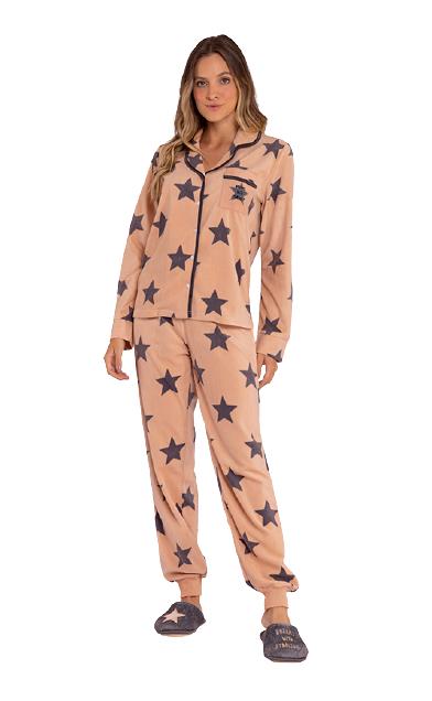 Pijama Feminino Inverno Fleece Starlight Lua Luá
