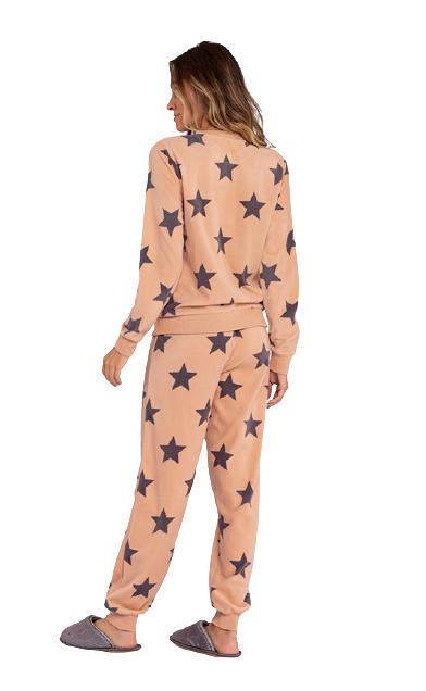Pijama Feminino Inverno Fleece Starlight Lua Luá TAMANHO: M