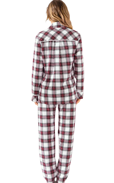 Pijama Feminino Inverno Listrado MIXTE