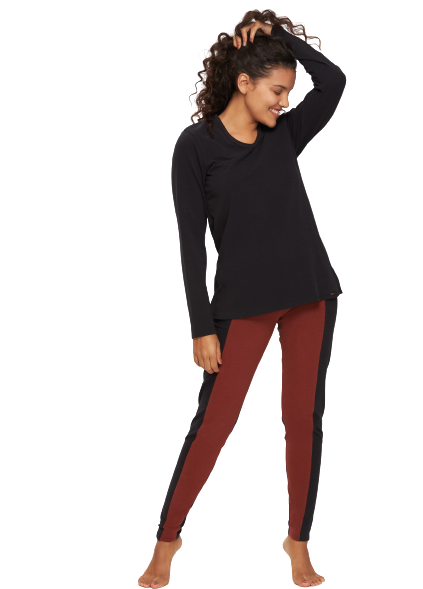 Pijama Feminino Inverno Stretch RED Recco