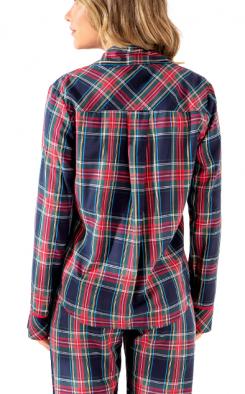 Pijama Feminino Outono Xadrez MIXTE
