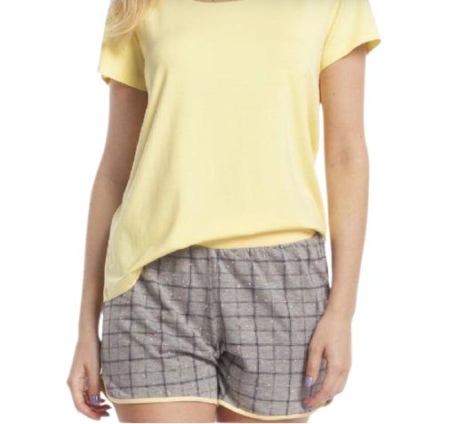 Pijama Feminino Short Doll Confete