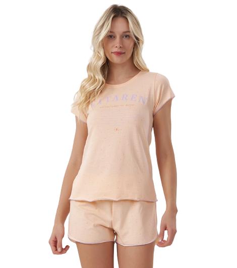 Pijama Feminino Short Doll Primeiros Socorros Das Emoções