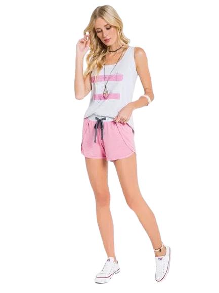 Pijama Feminino Short Doll Regata Confort VEGGI