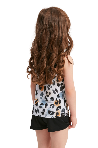 Pijama Menina Infantil Alcinha Animal Print