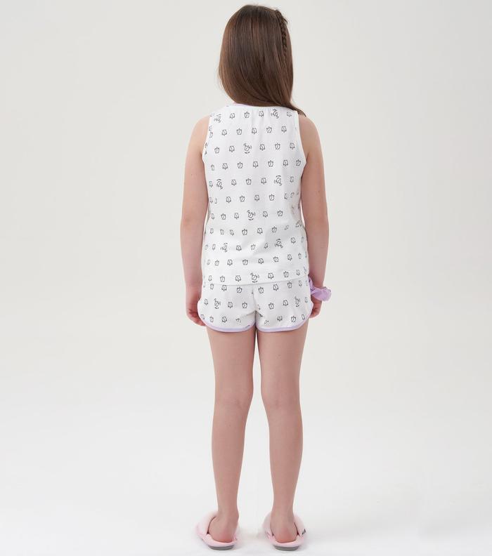 Pijama Menina Infantil Despertadores Mãe e Filha