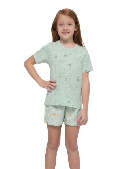 Pijama Infantil Menina Cachorrinhos Sonhart TAMANHO: 08