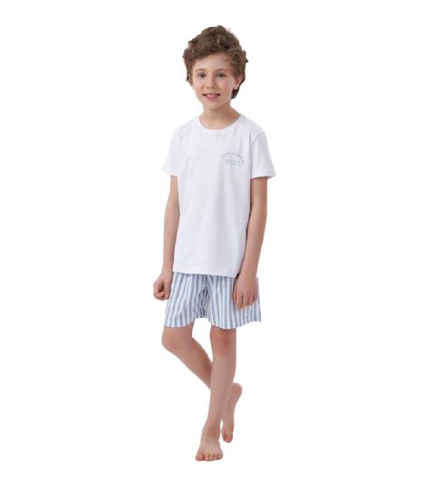 Pijama Infantil Menino Pai e Filho Família Com com Amor