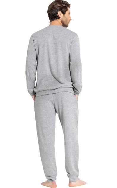 Pijama Masculino Inverno Mescla MIXTE
