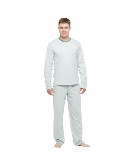 Pijama Masculino Inverno Verde Sonhart 100% Algodão