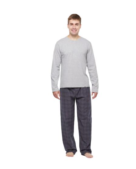 Pijama Masculino Inverno Xadrez Sonhart Flanelado
