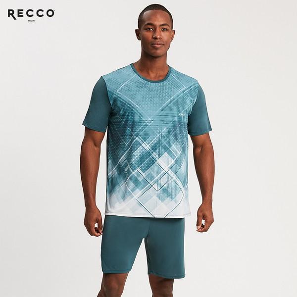 Pijama Masculino Microfibra Verde Recco