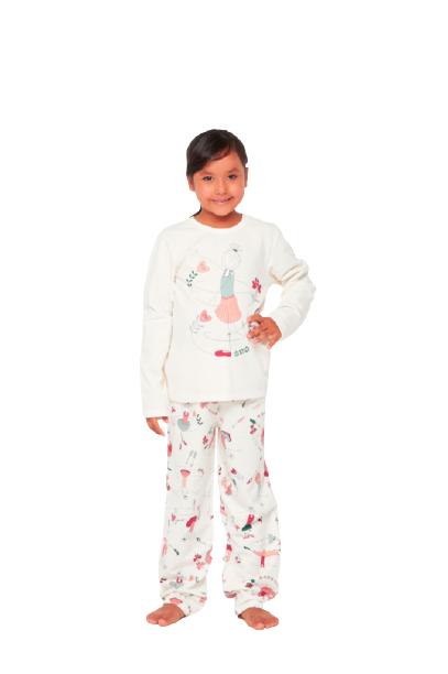 Pijama Menina Infantil Inverno Divertido Sonhart 100% Algodão