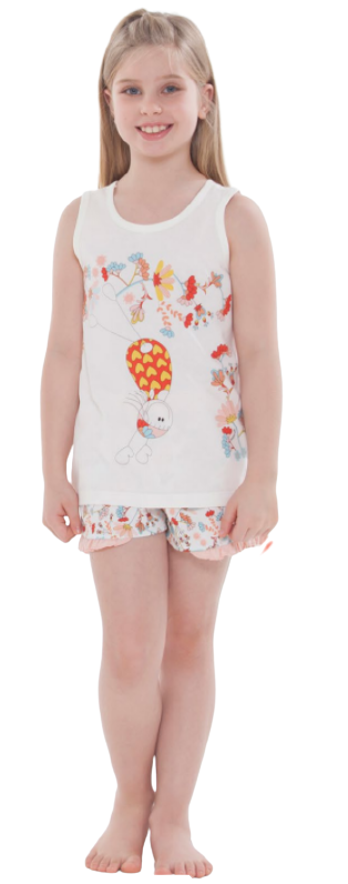 Pijama Menina Infantil Regata Divertido Sonhart 100% Algodão