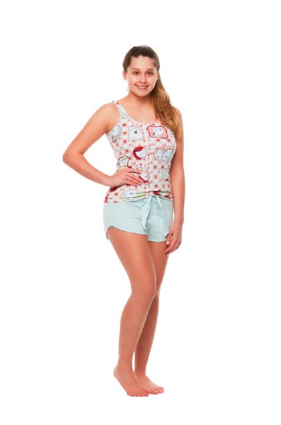 Pijama Feminino Regatinha Divertido Sonhart