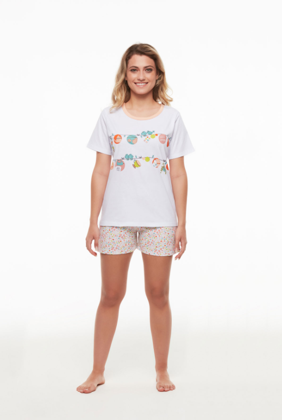 Pijama Short Doll Camisete Sonhart
