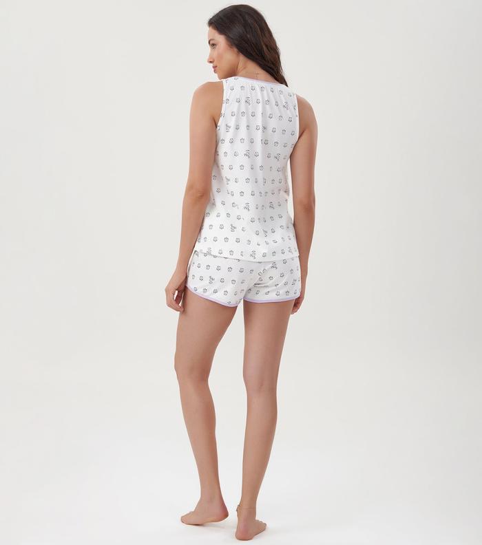 Pijama Short Doll Despertadores