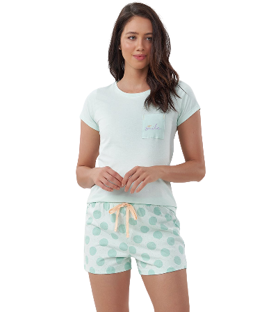 Pijama Feminino Short Doll Mãe e Filha