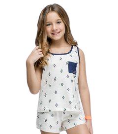 Pijama Menina Infantil Regata Chinelinhos