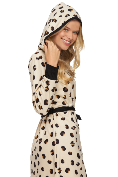 Robe Inverno Fleece Slim Animal Print Recco TAM: G