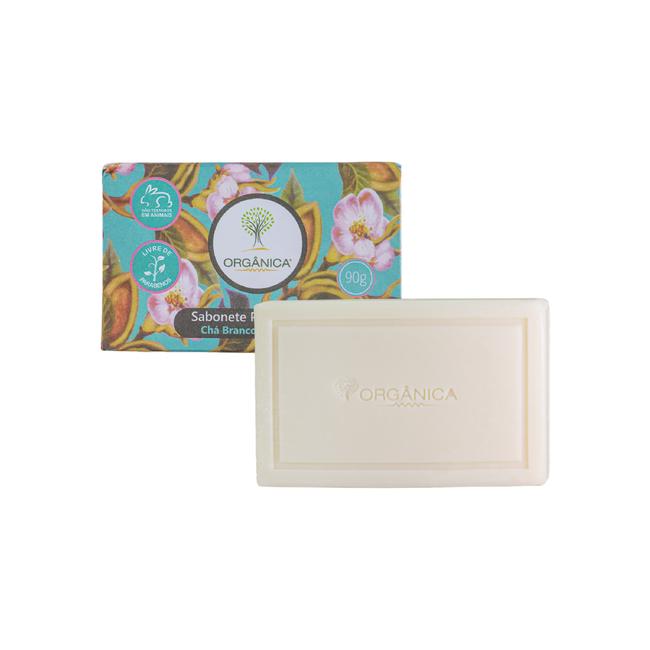 Sabonete Chá Branco e Gengibre Orgânica 90g