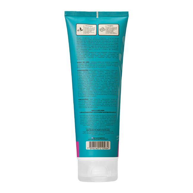 Shampoo Vegetal 3 em 1 CocoNut Lima Orgânica 250ml