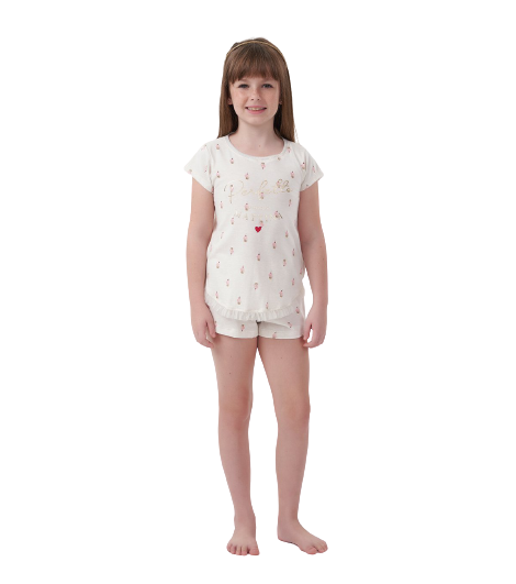 Pijama Menina Infantil Mãe e Filha Cupcakes