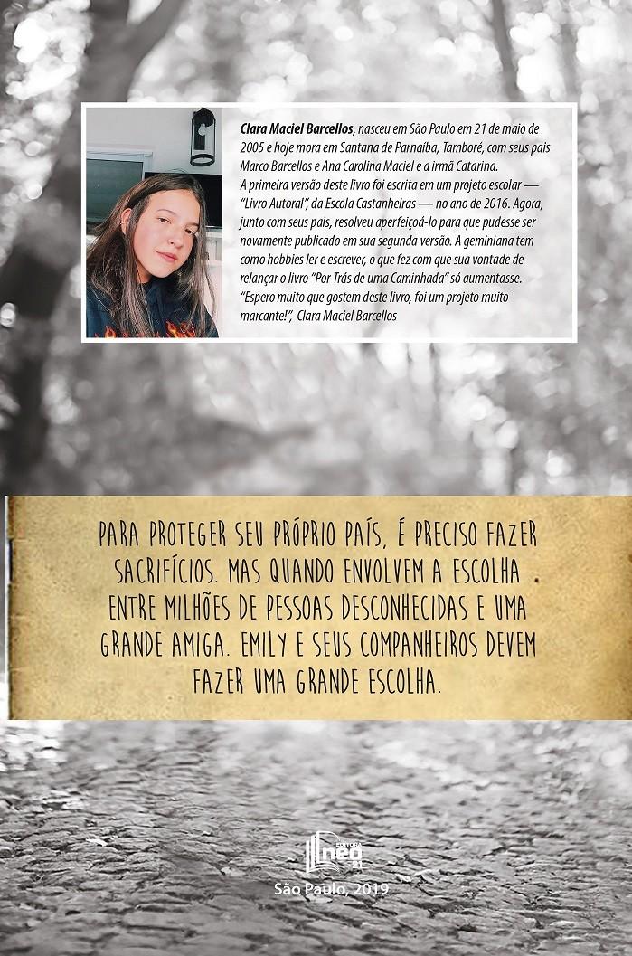 POR TRÁS DE UMA CAMINHADA por Clara Maciel Barcellos