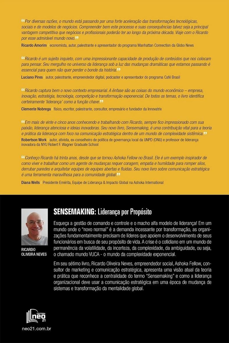 SENSEMAKING: Liderança por Propósito por Ricardo Oliveira Neves