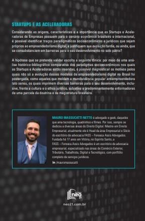 STARTUPS E ACELERADORAS por Mauro Massucatti Netto