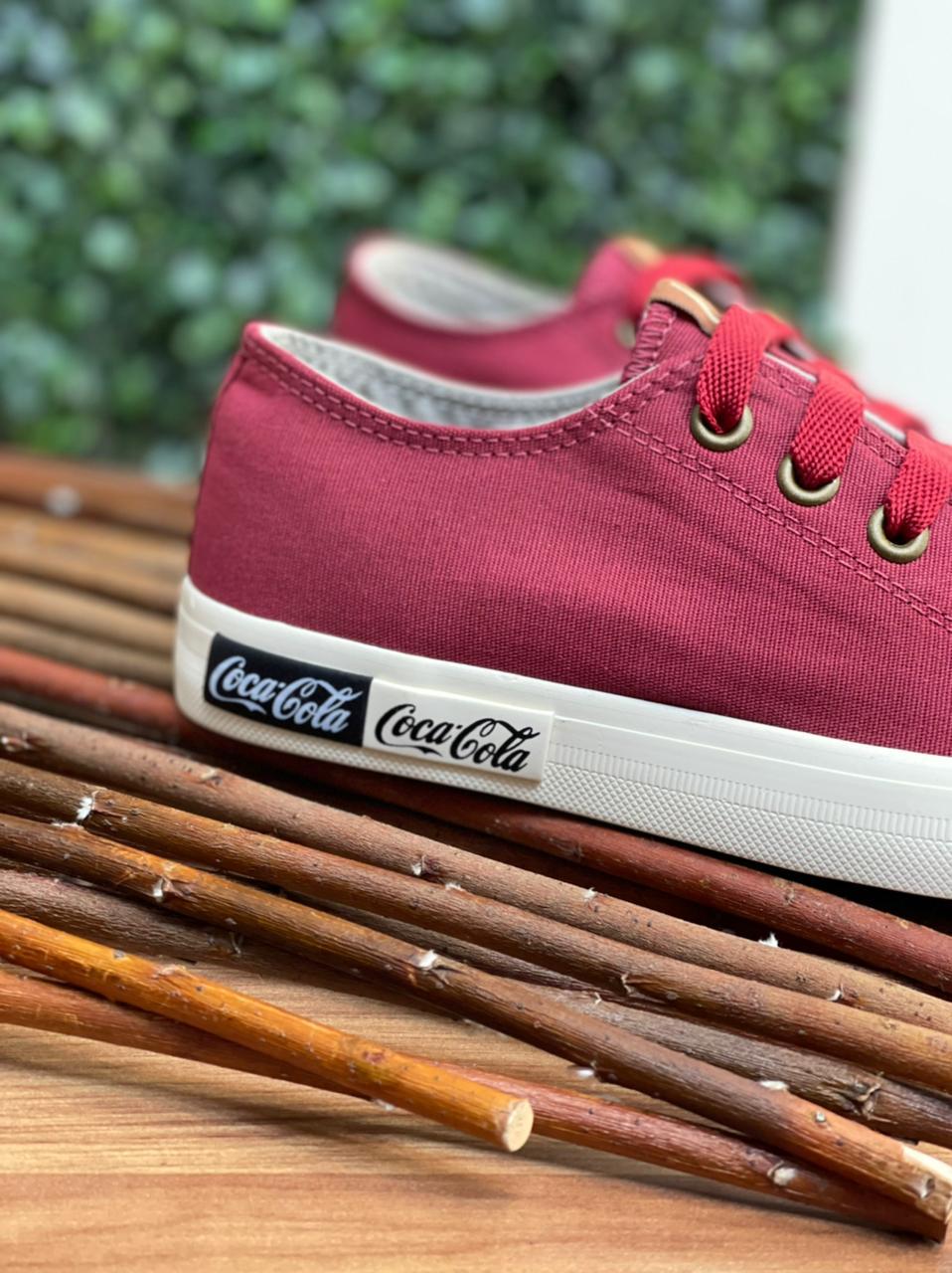Tênis Coca Cola cc 1687