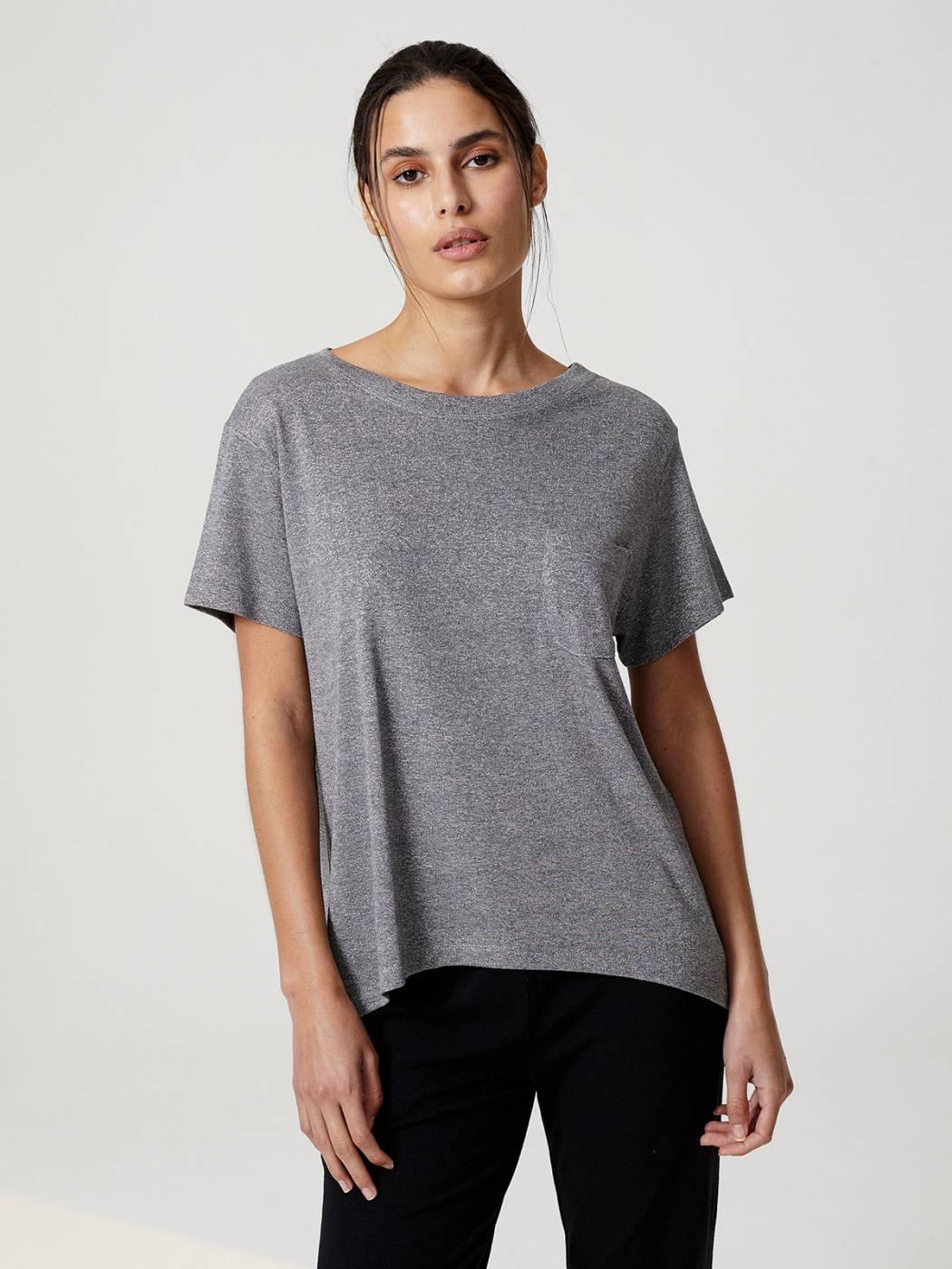 Blusa Brilho 1 Bolso