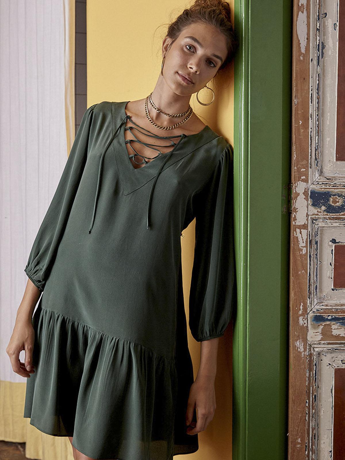 Vestido Seda XXX