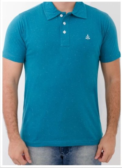 Camisa Barrocco Pólo Azul