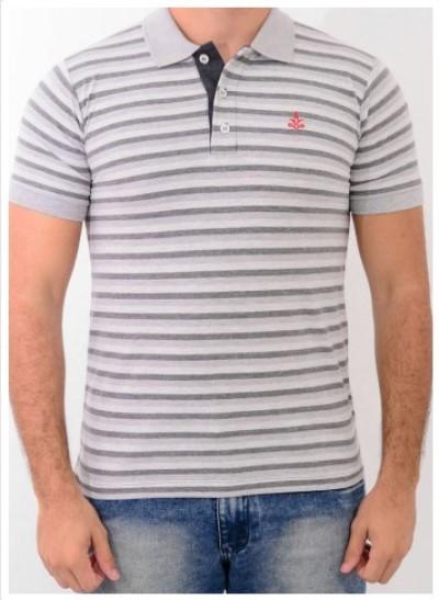 Camisa Barrocco Pólo Listra Fina