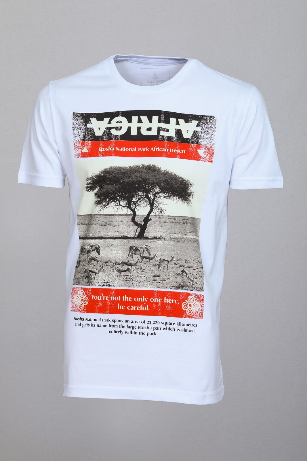 Camiseta Barrocco África - FRETE GRÁTIS